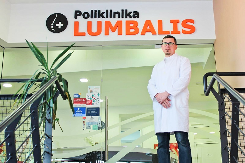 Ortopedija u poliklinici Lumbalis